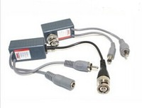 Power video audio baluns Twisted Pair JR-200MA for CCTV and home theatre system installations UTP Network Transceiver