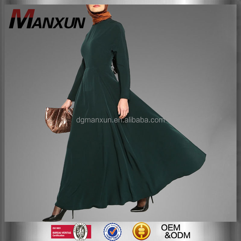 Long sleeves maxi dress abaya of jeddah dubai abaya wholesale maxi dress