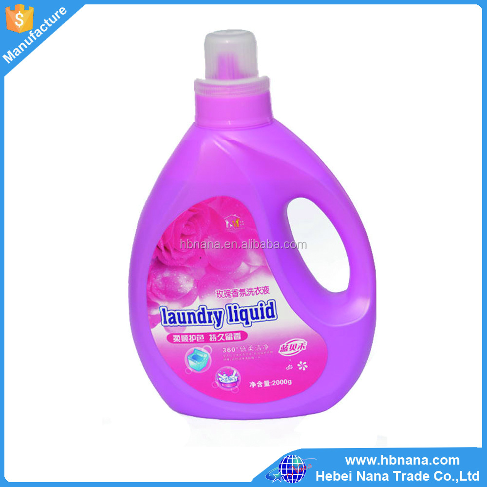 Best selling brands name of laundry liquid detergent / good smell chemical formula detergent liquid