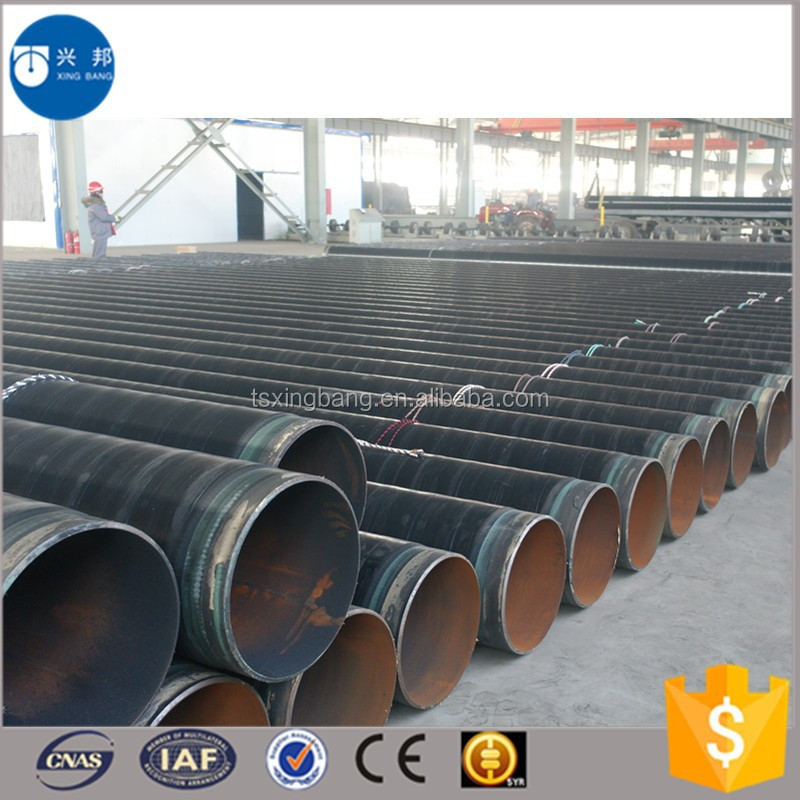 FBE Coated SCH ERW carbon Steel Pipe for oil and gas supply with competive price