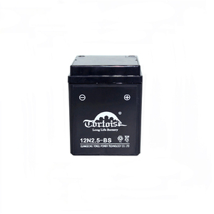12N2.5-BS 12V 2.5AH motorcycle battery wet cherged MF lead acid battery