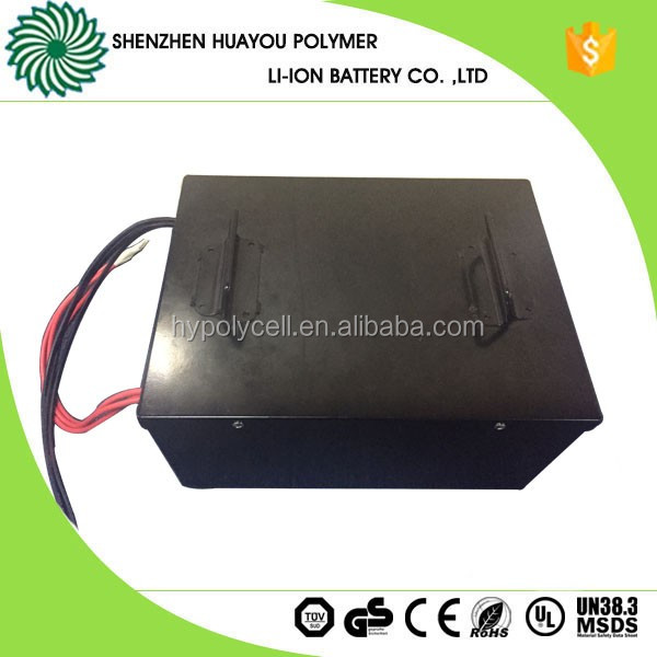 2017 new deep cycle li-ion battery pack 48v 100ah for electric tesla car