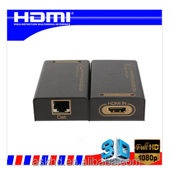 HDMI Extender 60m HDMI extender cat5e x1 Over single cat5e