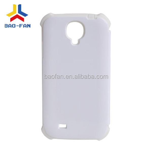 New high quality 3D sublimation silicone phone case for samsung S4