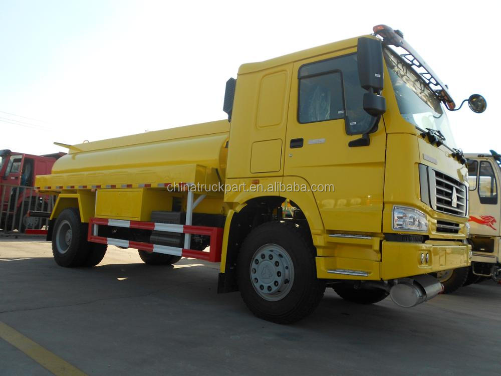 SINOTRUK HOWO German MAN technology Rear axle Water Tank Truck For sale