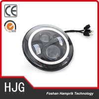 45W motorcycle- engines Round 7 inch LED headlight bulbs 6500k turn light for motorcycles offroad led lights