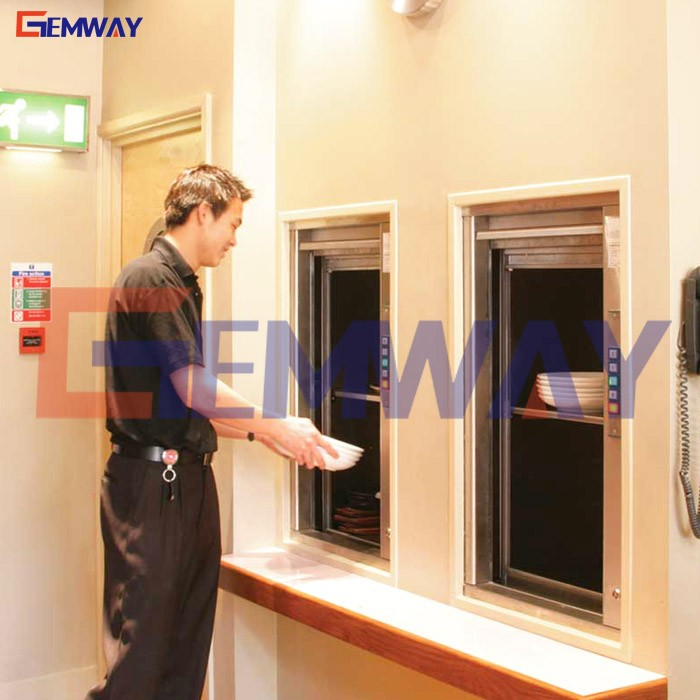 Customized dumb waiter elevator manufacturer for food and kitchen from China