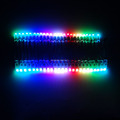 Colorful 12mm diffused F8 10cm 15cm 20cm pixel distance led string lights rgb dmx