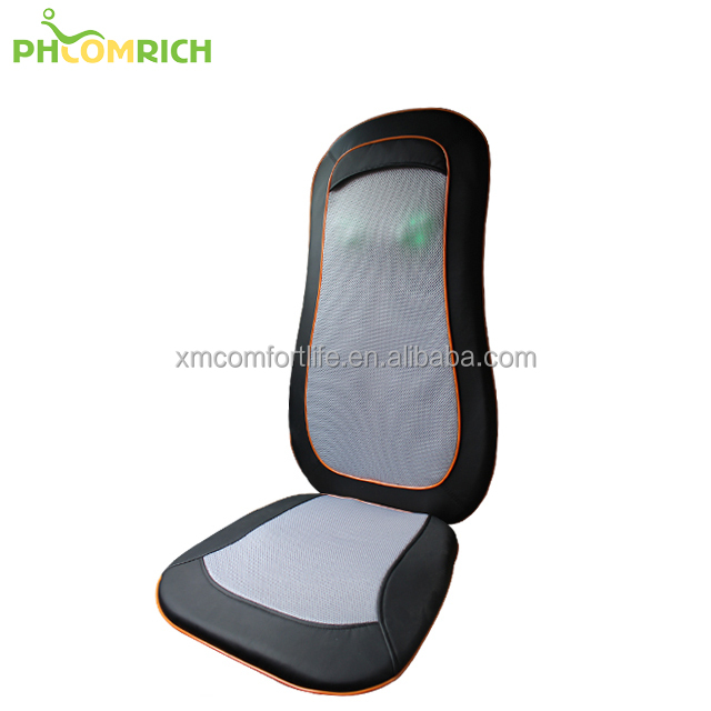 Reflexology Portable shiatsu Chair Massager with Heat