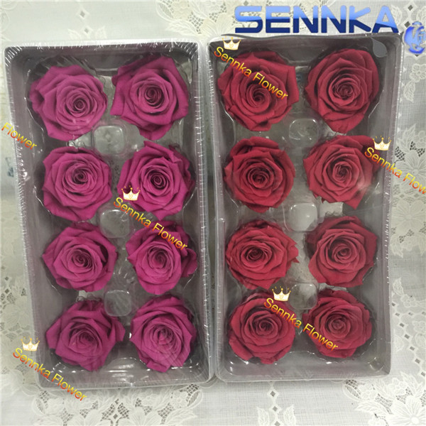Factory directly supply preserved rose Christmas decoration eternal rose