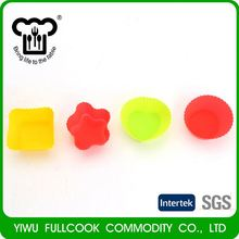 New products different types colorful silicone cake mold