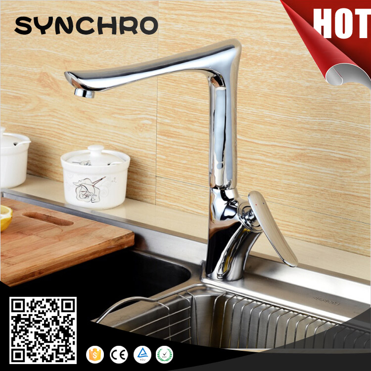 SKL-32219 Cheap brass material kitchen mixer taps