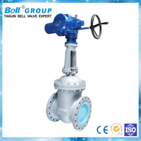 Electric nbc flanged gate valve dimensions