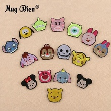DIY Clothing Shoes Applique Cute Small Pig Bear Embroidery Animal Patch