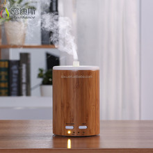 For home use portable air purifier bamboo nebulizing oil fine mist bubble diffuser