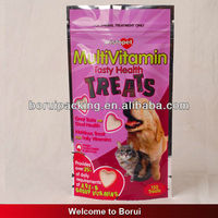 popular wholesale pedigree red dog blue cat pet food bowl packaging bag