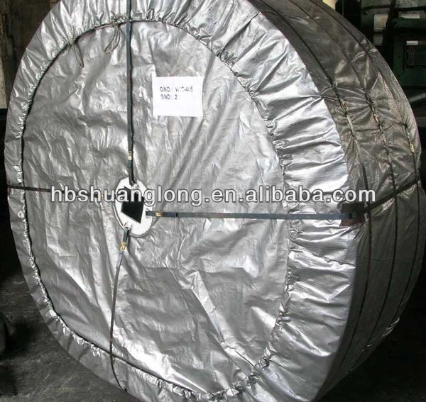 Polyester EP canvas rubber conveyor belt