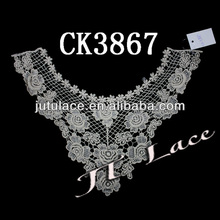 2013 Fashion Applique Embroidery lace Collar CK3867