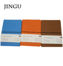 A5 nieuwe soft pu leather cover met horizontale elastische band notebook