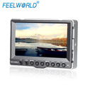 High Resolution 800x480 Support Low Frequency 5''cctv display 15 3g sdi moniteur with Peaking Focus Assist Exposure
