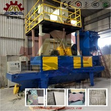 High polished good price black granite tile and marble slab shot blasting machine