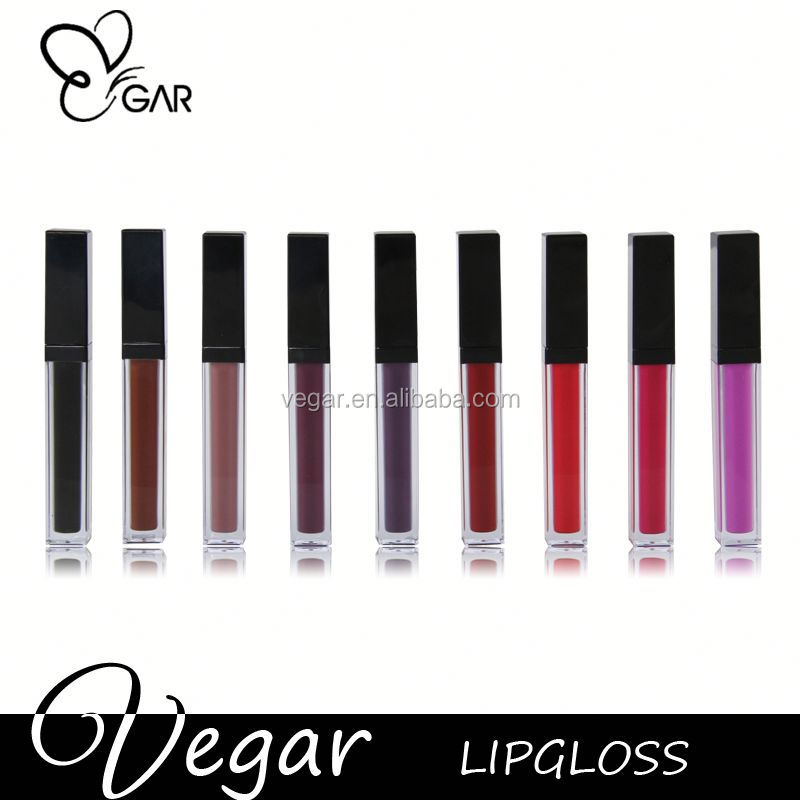 cosmetic lip gloss packaging liquid lipstick no brand matte liquid lipstick high class led mirror lipgloss liquid lipstick
