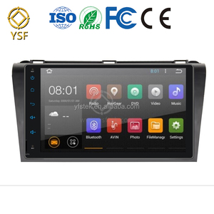 High Quality Android 2 din Car Audio with GPS for Mazda 5 2010-2012
