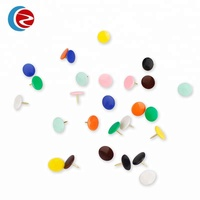 Colorful fancy round head push pins