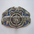 Wholesale bulk cowboy R-0446-27 40mm back w/teeth customized western belt buckle eagle with high quality