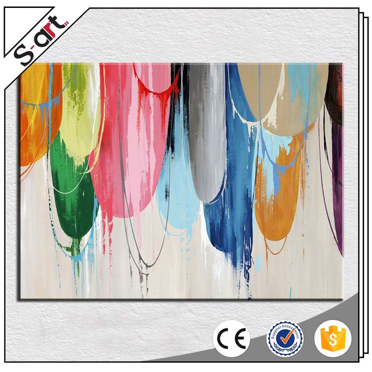 Custom wholesale best choice abstract oil painting modern art
