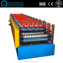Low Price Metal Roof Tiles Cold Double Layer Roll Forming Machine
