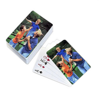 Customized Top sale 57*87MM paper playing cards poker set