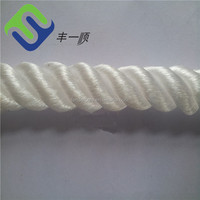 16-strand solid braid pp/poly floating rope made in china