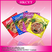 Custom Printed Mylar Foil Zipper Bags For Potpourri / custom printing 3g herbal potpourri bag