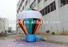 2012 Hot Sale oxford cloth material inflatable ground balloon GB-002 used for advertising or promotion
