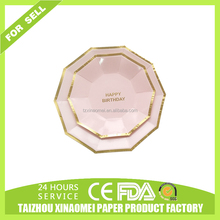 disposable paper wedding plates wholesale