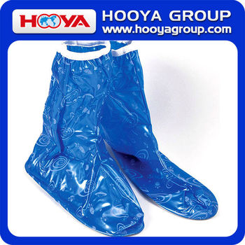 Ebola High Quality Rain Shoe Cover With General Zipper