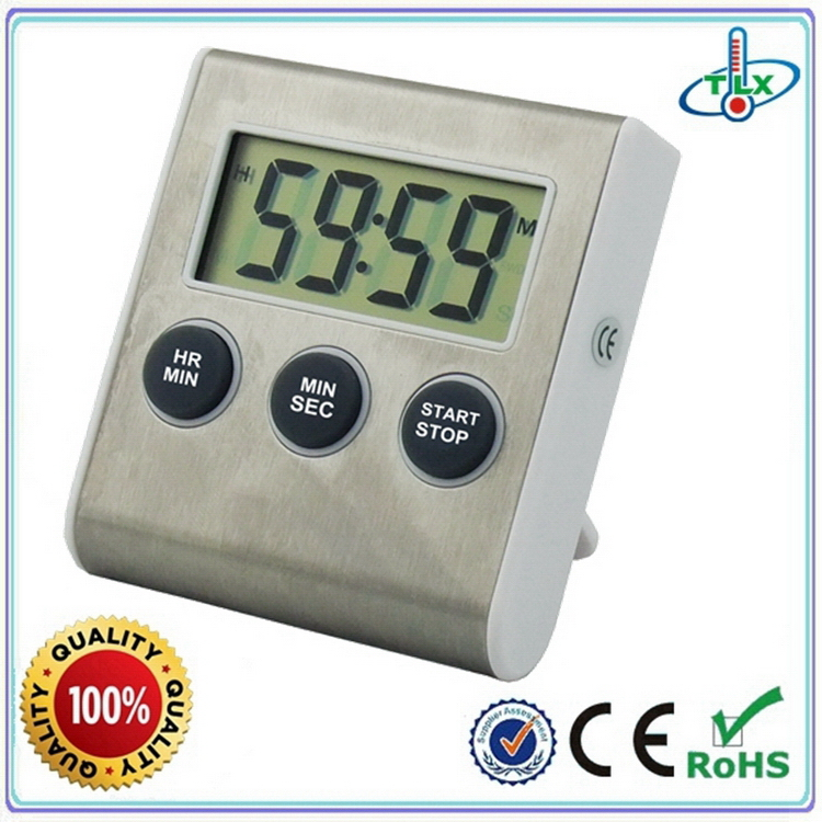 Modern unique electronic kitchen timer with magnet
