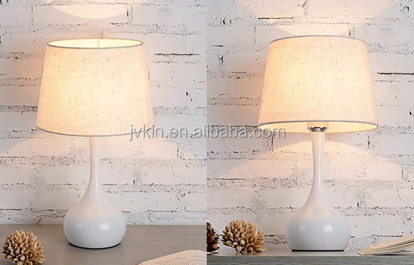 Modern simple bedroom creative fashion cloth bedside lamp wedding decoration gift bedside table lamp