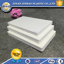 Jinbao interior wall pvc foam sheet 4*8ft high density 5mm 10mm
