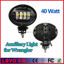 Black leds lighting for jeep wrangler 40w high lumen led Auxiliary Light