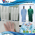 SMS 100% polypropylene non woven fabric for medical gown