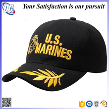 Vintage 3d gold embroidery wholesale tactical baseball cap