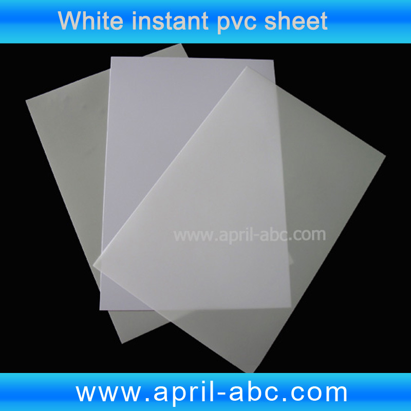 Card material no laminating inkjet printable pvc sheet