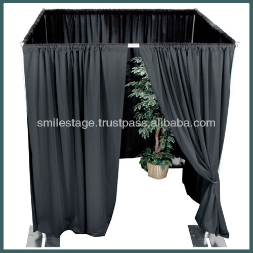 High Quality Pipe and Drape System--Used Photo Booth for Sale