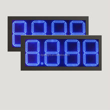 small led clock display/ led digital gas price sign/ outdoor led display screen