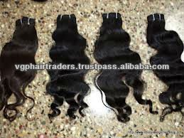 100% virgin indian temple machine weft hair