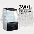 390L Open Air Cake Or Drink and Beverage Refrigerator Counter Showcase Display Cooler