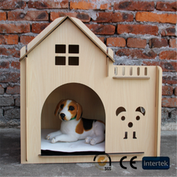 Wooden dog house small cottage wooden pet cage
