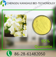 Herb plant extracts for functional beverage 95% Quercetin 117-39-5